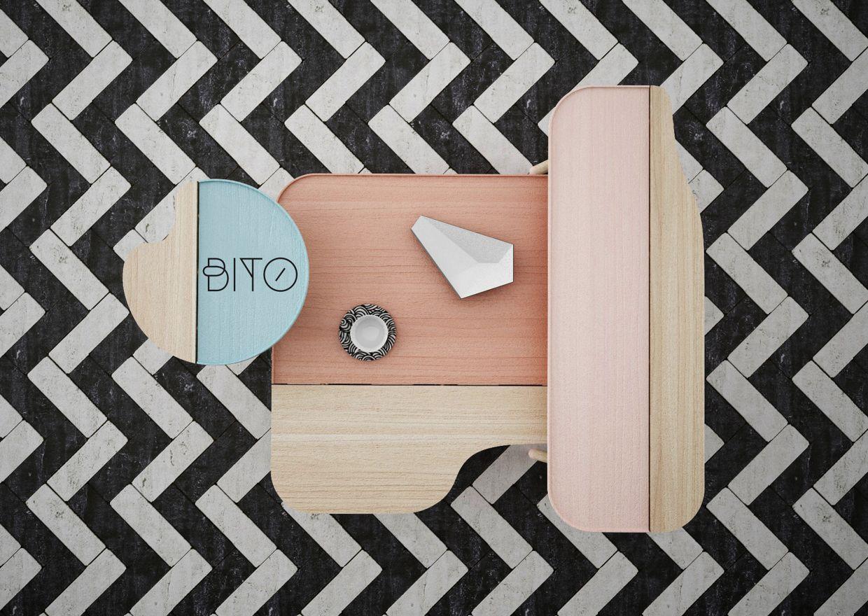 Takeovertime modular table design living furniture