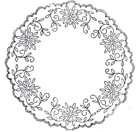Free vintage hand embroidery patterns - pintangle.com | needlepoint ...