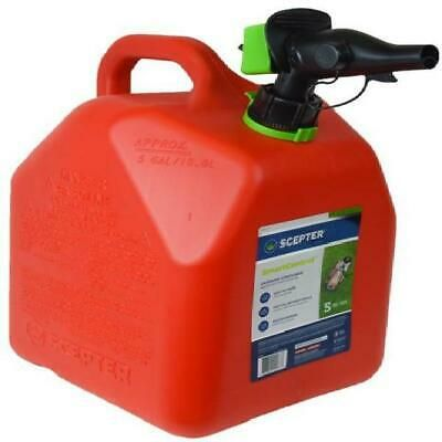Ad Ebay Url Gas Can Fuel Container Simple Spout Air Vent Gasoline Portable Storage Tank 5gal In 2020 Gas Cans Gas Fuel Storage