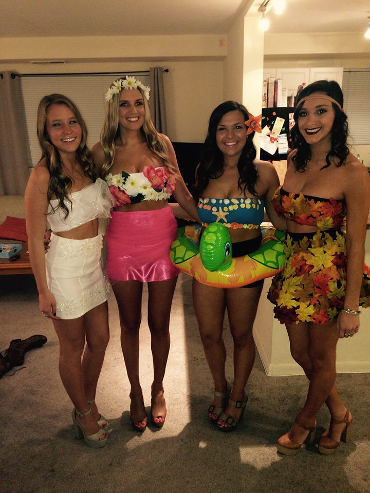 4 Person Halloween Costumes Girls.Four Seasons Halloween Costume Just Some Cool Stuff Bff