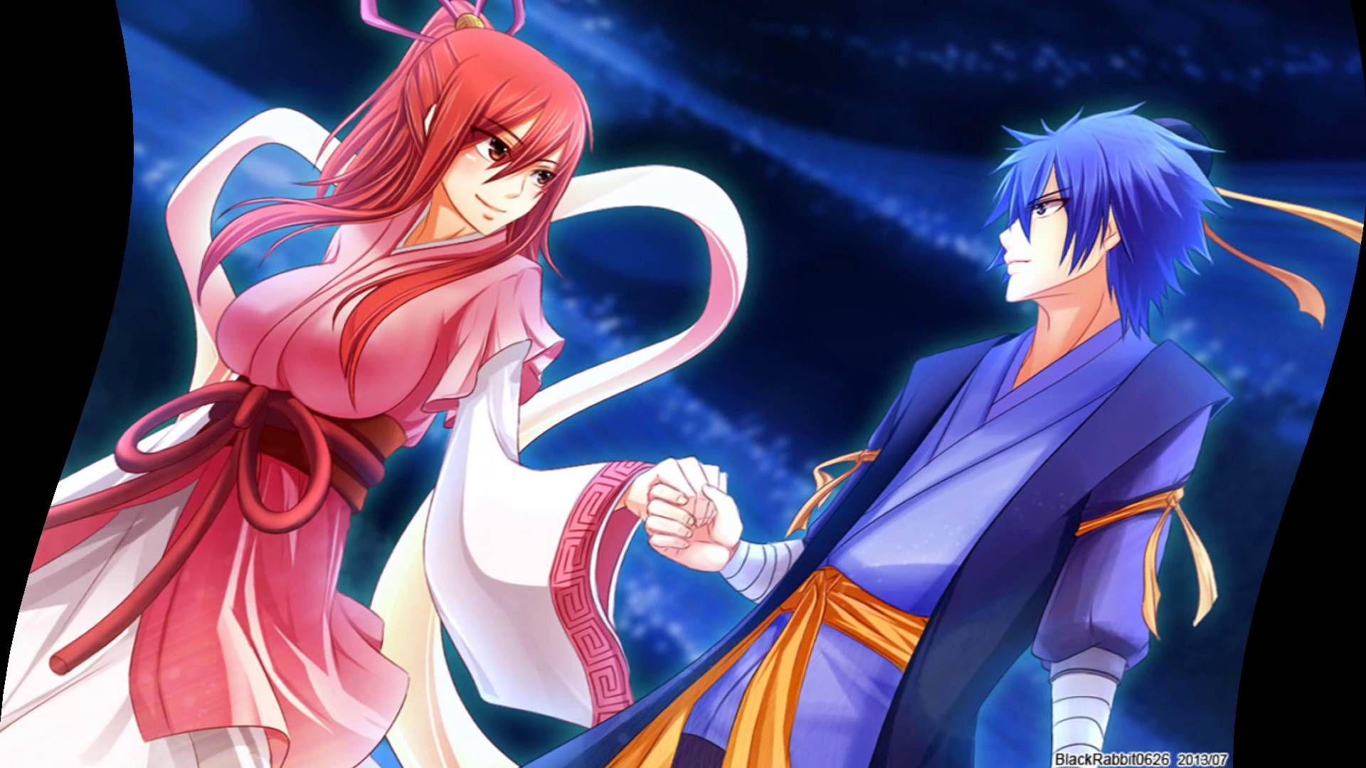 ~Jellal x Erza Safe and Sound~ - YouTube