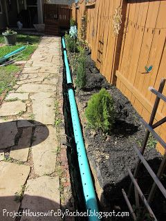 Project Housewife French Drain Yard Drainage Backyard Drainage French Drain