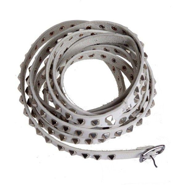 Stud leather belt MICHAEL COX WROdkiN