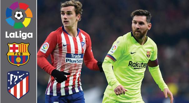 Barcelona Vs Atlético Madrid Soccer Football Baseball Cards