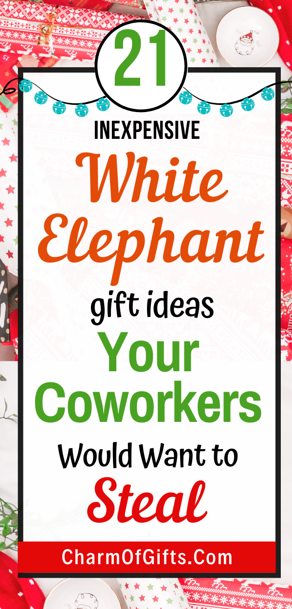 Cheap White Elephant Gifts For Office Staff Perfect For Holidays -   19 white elephant gift for work ideas