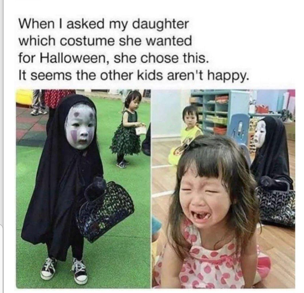 Pin By Aimee Farnsworth On Funny Stuff Funny Halloween Memes Halloween Memes Halloween Funny