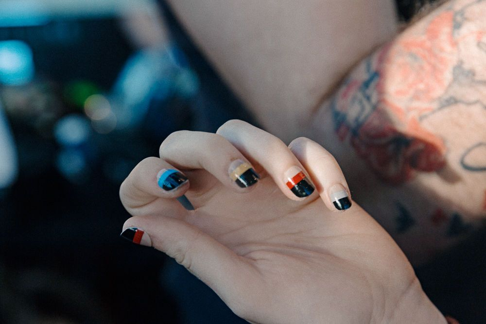 foto de The Best In Beauty From NYFW SS17 Spring nails Nail