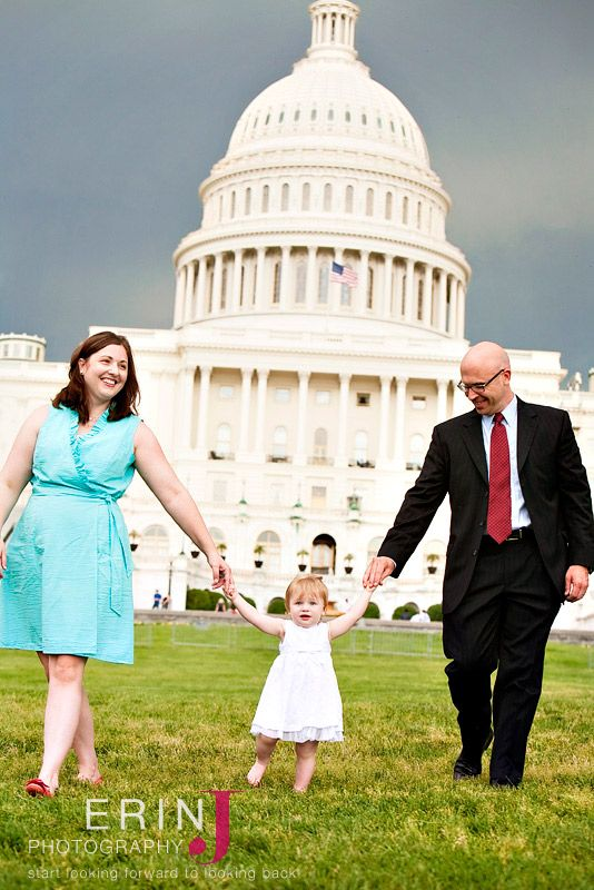 Family photography at the u s capitol washington dc family photography copyright erin j photography