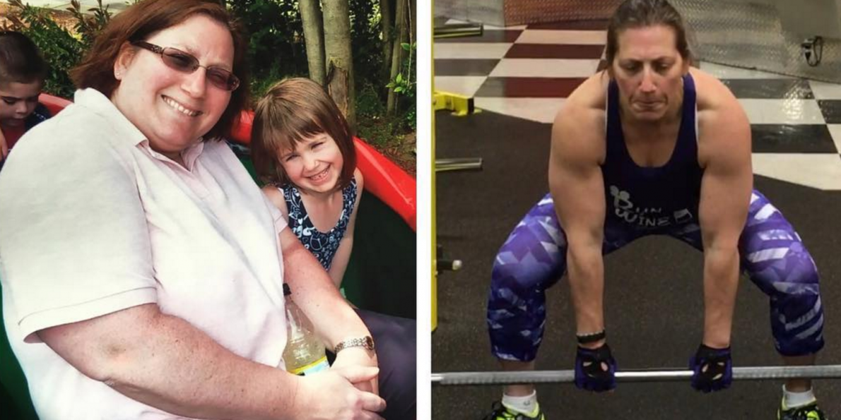 At 44, Lainie Messina wanted to get fit. But she had a lot of changes to make.