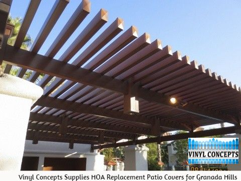 Replacement Patio Covers In Granada Hills Are On Top Of Every HOAu0027s List.