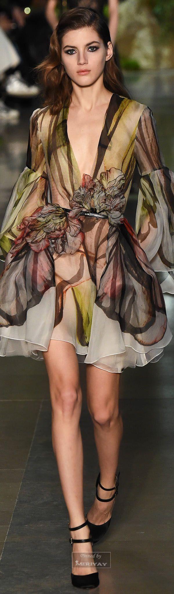 Elie Saab ~ Couture Floral Mini, 2015
