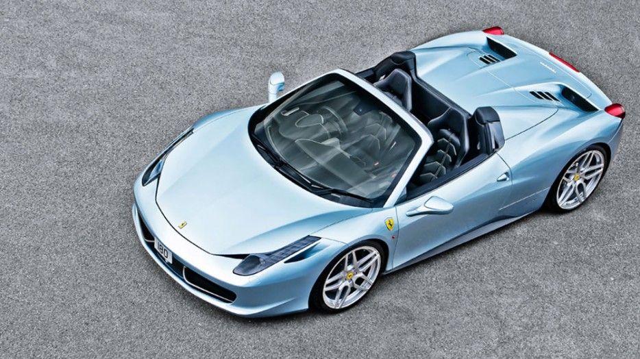 Kahn Grigio Alloy Light Blue Ferrari 458 Spider | Dream Rides ...