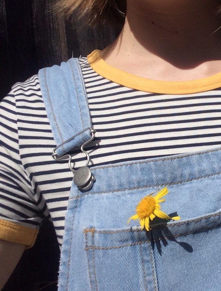 Flower child | Denim Bib Overalls | Pinterest | Flower children Child and Flower