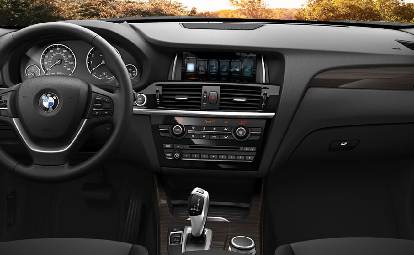 The bmw x3 interior with fineline anthracite wood trim the vision pinterest bmw x3 wood trim and bmw
