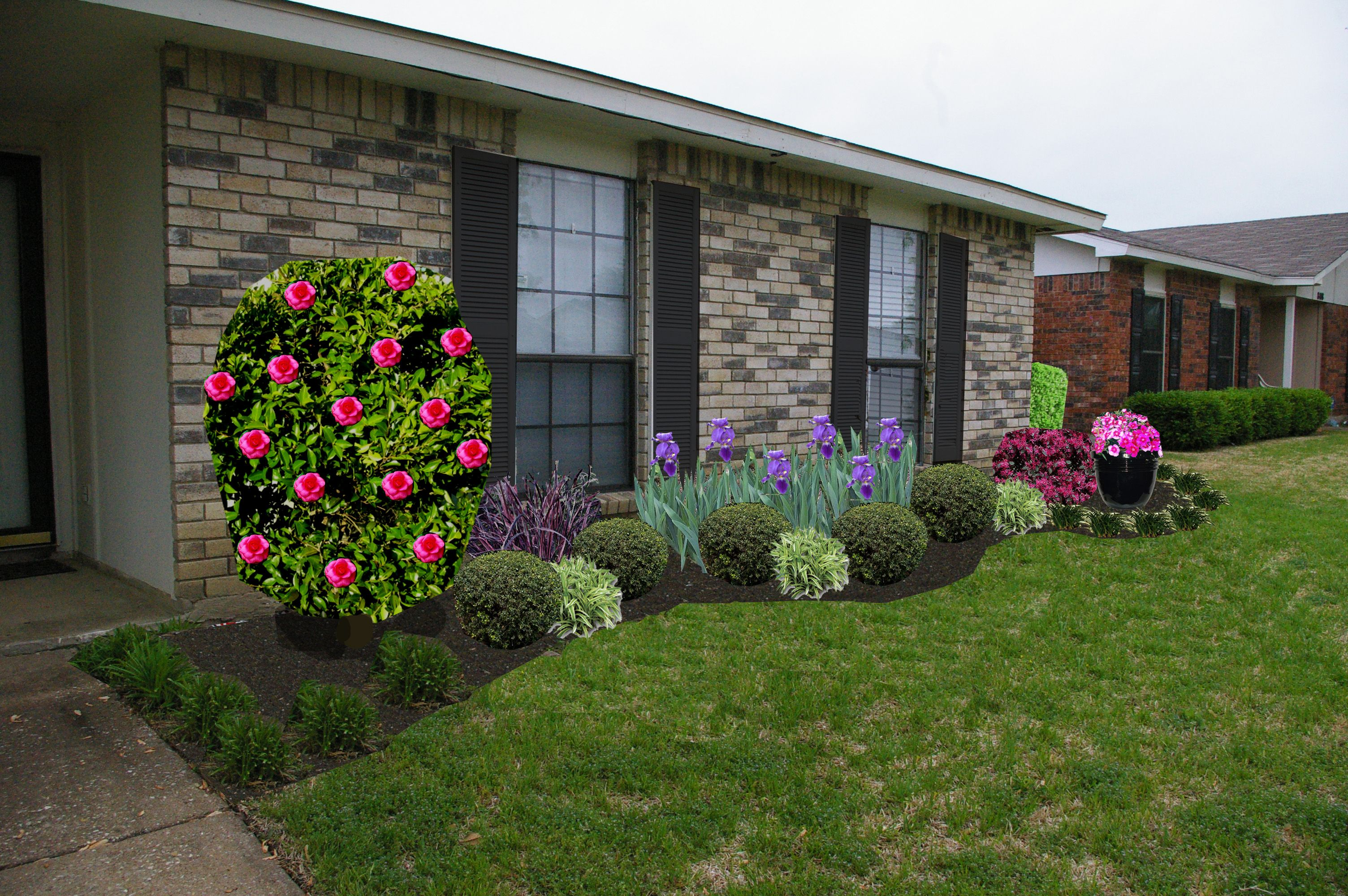 Plans For A North Facing Front Yard Landscaping Pinterest