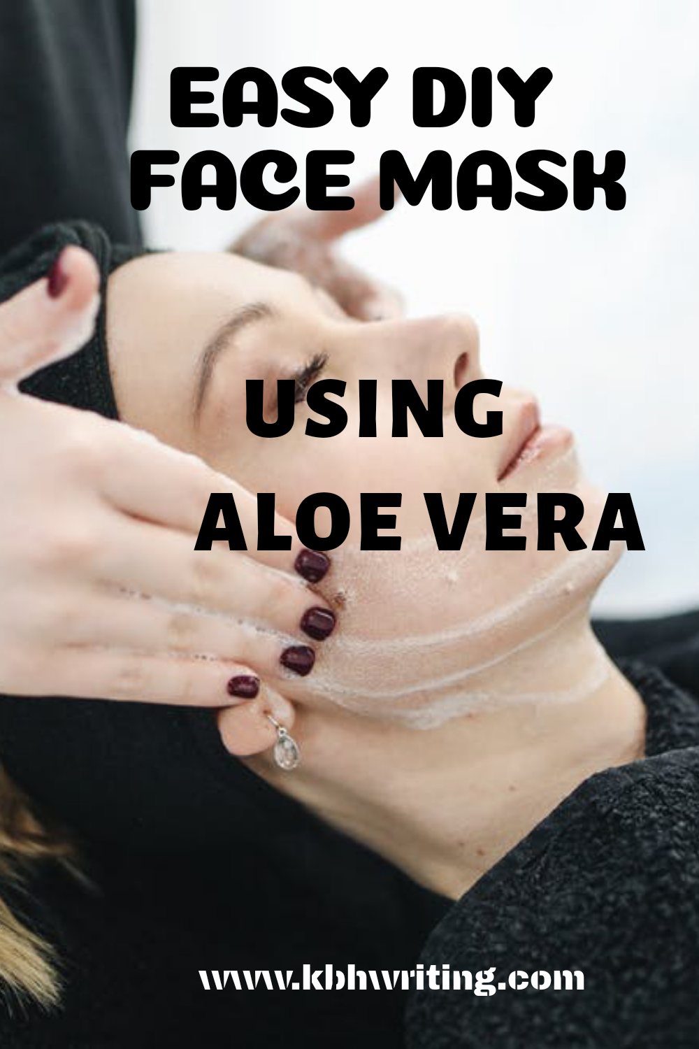 Cheap and effective D.I.Y Face Mask Using Aleo Vera in