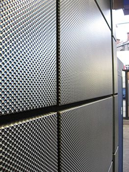 Textured Stainless Steel Vecta Panels Give Durable Finish For Rail Station    Image 2. Metal CladdingWall CladdingInterior ...