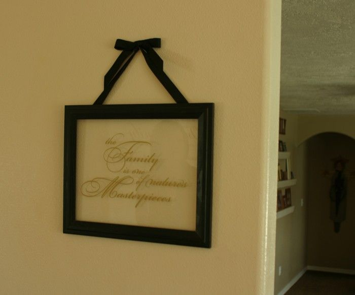 Take The Back Out Of A Picture Frame Fix Glass So It Wont Fall Out