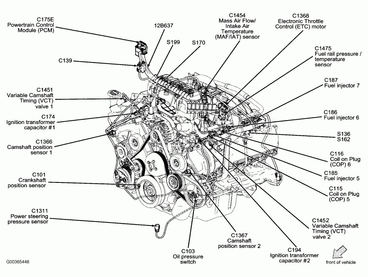 12 Wiring Diagram For F150 Triton 3v Engine