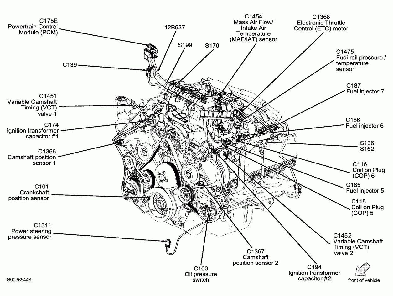 12 Wiring Diagram For F150 Triton 3v Engine