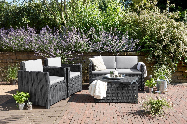 Loungeset Tuin Outlet : Maak van de tuin een verlengstuk van de woonkamer met een
