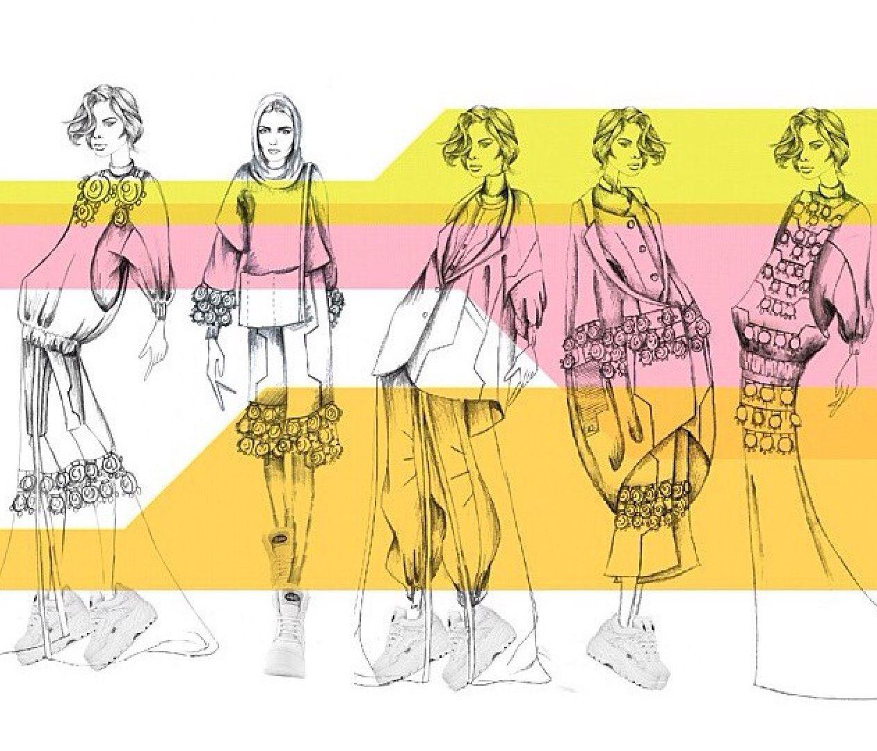 illustrated line portfolio