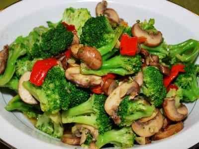 My Kuali: Brokoli bawang putih