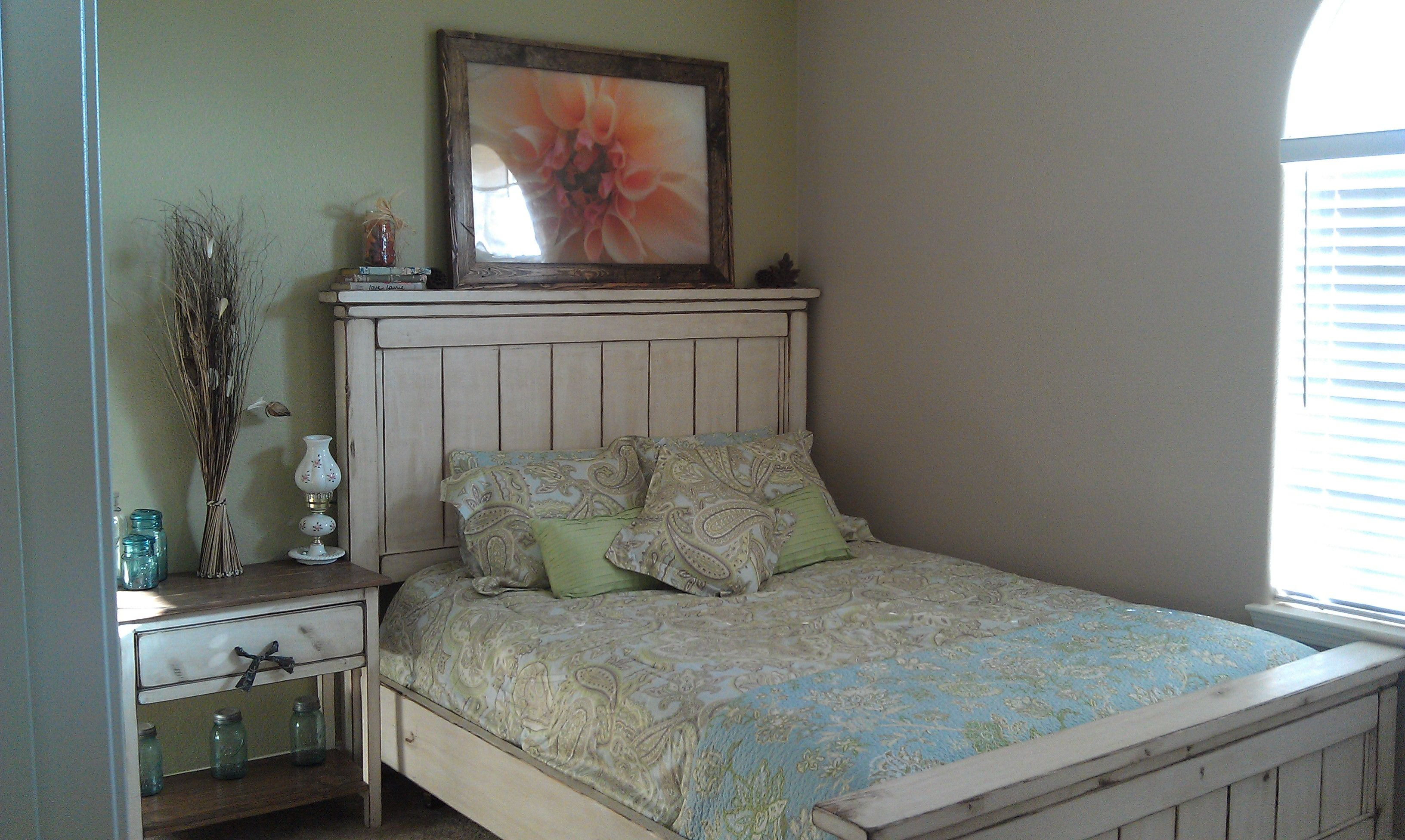 ana white farmhouse bed Google Search For lazy