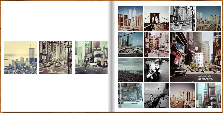 fotobuch quadratisch beispiel layout foto pinterest. Black Bedroom Furniture Sets. Home Design Ideas