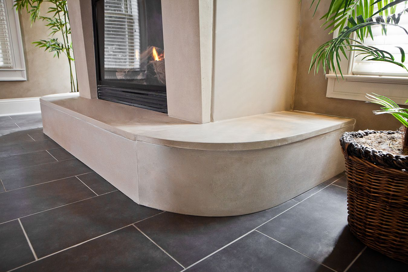 Concrete Countertops Mn Round Fireplace Surround Atlanta Concrete Countertops Concrete
