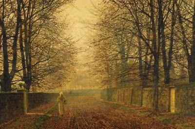 British Paintings: John Atkinson Grimshaw - Golden Gleam