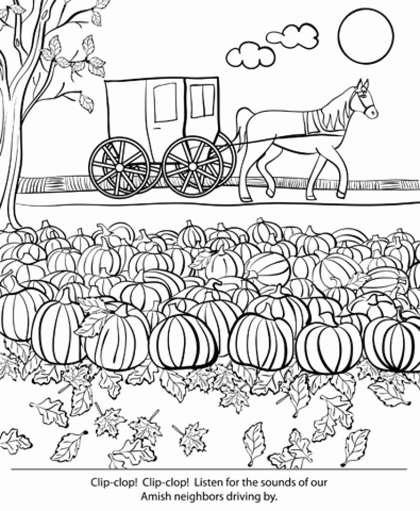 Pumpkin Patch Coloring Pages Trend