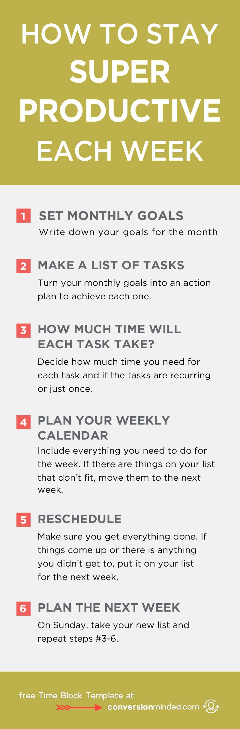 How To Stay Super Productive Each Week  Ready To Turn Your ToDo