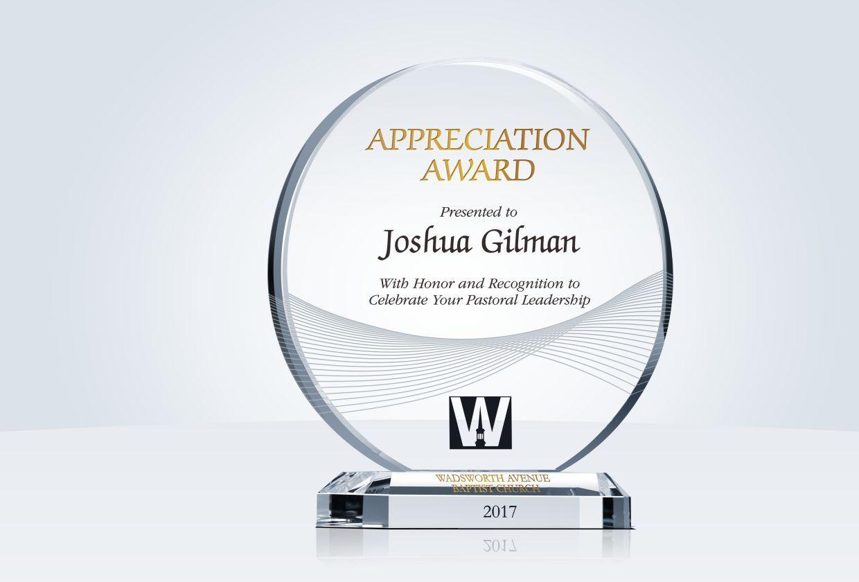 Circle Employee Appreciation Award Plaque Employee Appreciation Awards Employee Appreciation Appreciation