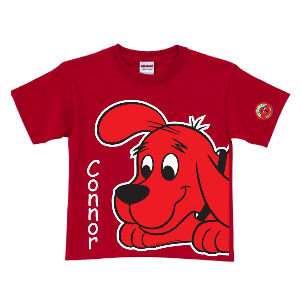 Clifford the Big Red Dog Close-Up Red T-Shirt from PBS Kids Shop ...
