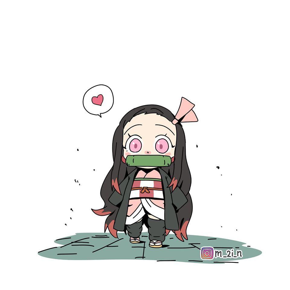 Kamado Nezuko Kimetsu No Yaiba Anime Demon Anime Chibi Slayer Anime