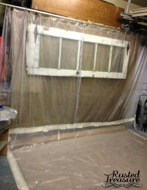 Rusted Treasure Paint Booth Diy Paint Booth Paint Booth Painting Furniture Diy