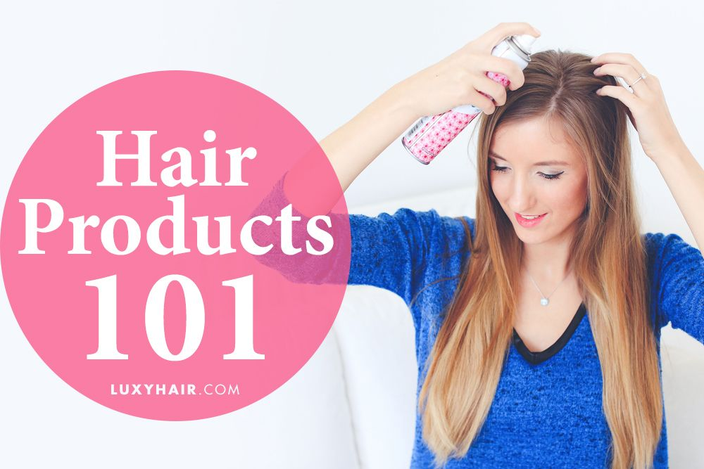 Hair Products 101: Everything You Need To Know | Hair wax ...