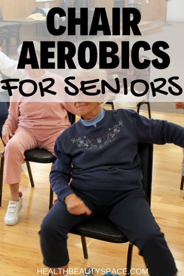 """Chair Aerobics For Seniors is part of Senior fitness -  Below a great aerobics workout for seniors   The word aerobic literally means """"with oxygen"""" or """"in the presence of oxygen """" Aerobic exercise is any activity that uses large muscle groups, can be maintained continuously for a long period of time and is rhythmic in nature  Aerobic exercises utilize oxygen as the major fuel …"""