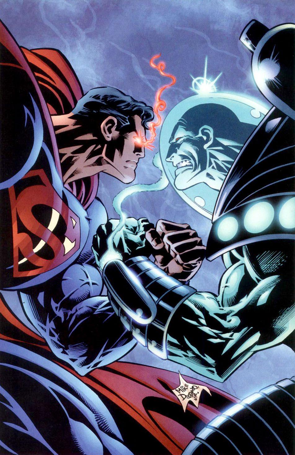 superman vs mr freeze mike deodato jr superman