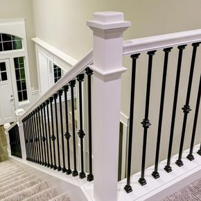 Best Stair Parts 2 1 4 In 6010 Primed Plain Colonial Handrail 400 x 300