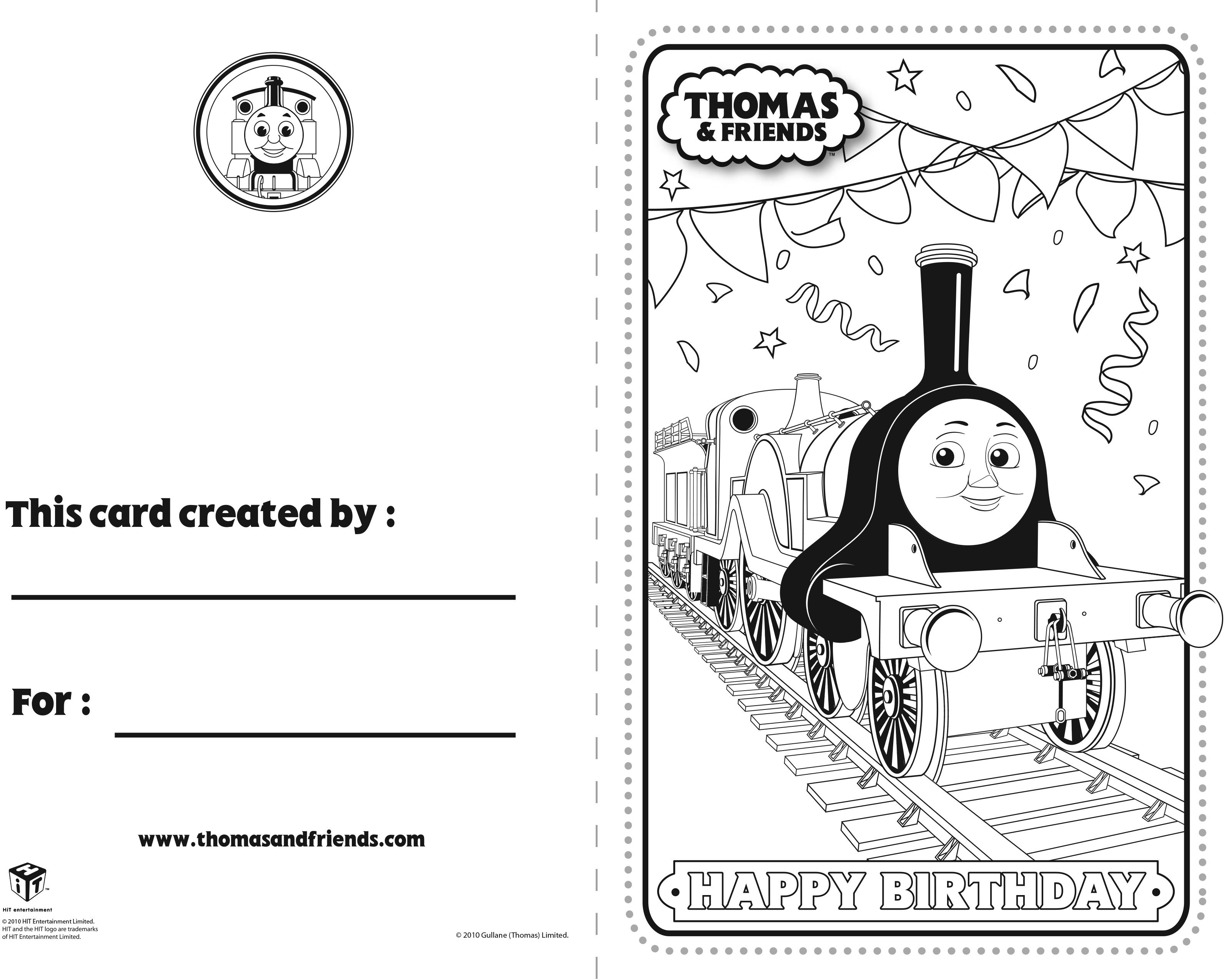 Thomas And Friends Birthday Card Emily Thomasandfriends Thomasthetankengine Bi Thomas And Friends Birthday Cards For Friends Printable Activities For Kids