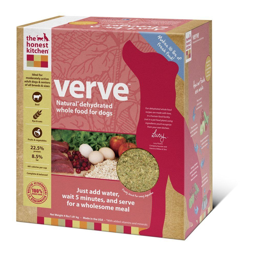 Product Review Verve Dehydrated Raw Organic Dog Food