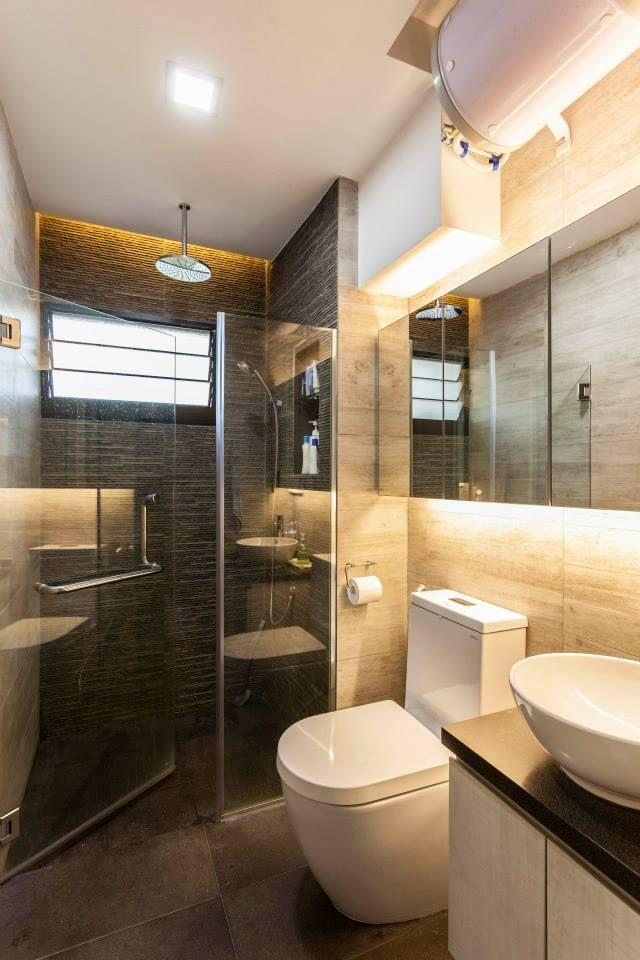 Hdb 5 Room Resale Modern Theme Bukit Panjang Bathroom Interior Design Interior Design Singapore Bathroom Interior