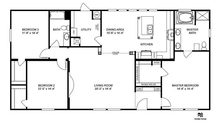 I Like This One Clayton Homes Home Floor Plan Manufactured Homes Modular Homes Mobile Ho Mobile Home Floor Plans Simple Floor Plans Modular Home Plans