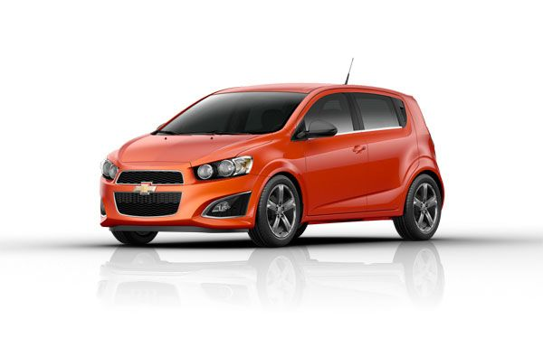 A Compact Car With A Big Personality 2013 Chevy Sonic White