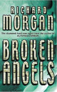 Broken Angels, finishing it, great book :)
