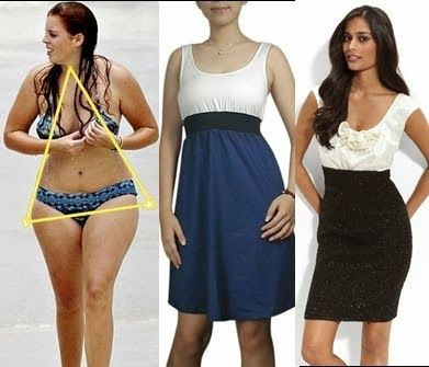 Vestidos para mujeres con caderas grandes
