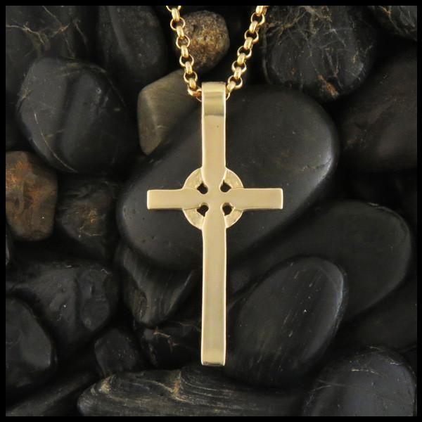 14k Gold Kilmory Celtic Cross Pendant Celtic Cross Jewelry Celtic Cross Cross Jewelry
