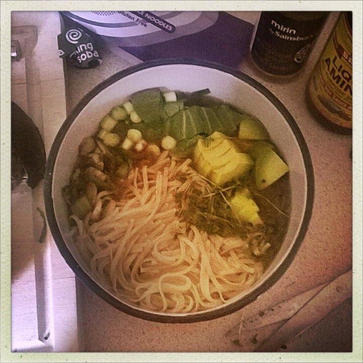 Magic healing noodle bowl